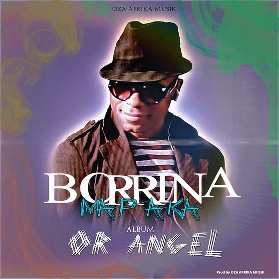 Pochette de l'album OR ANGEL de Borrina Mapaka