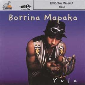 Pochette de l'album YULA de Borrina Mapaka
