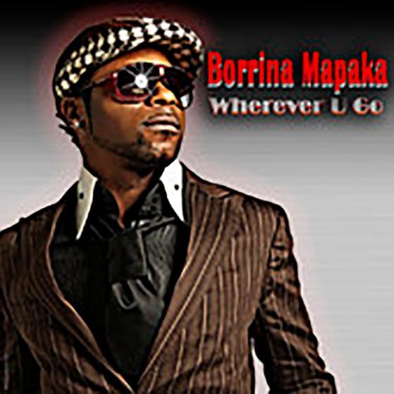 Pochette de l'album WHEREVER U GO De Borrina Mapaka