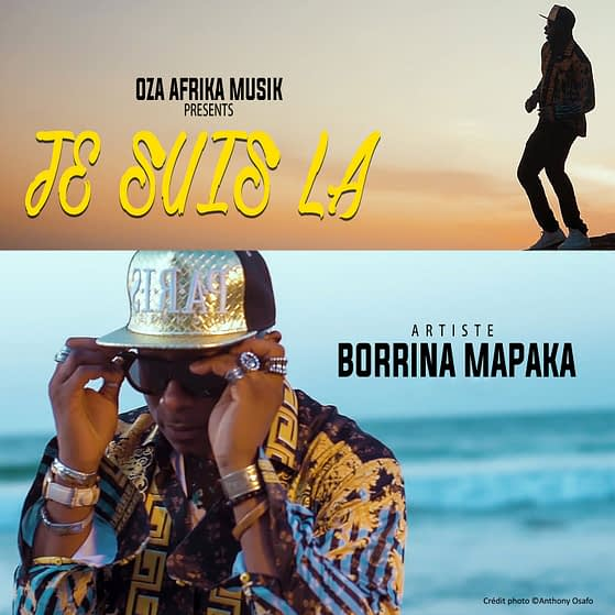 Pochette de l'album JE SUIS LA De Borrina Mapaka